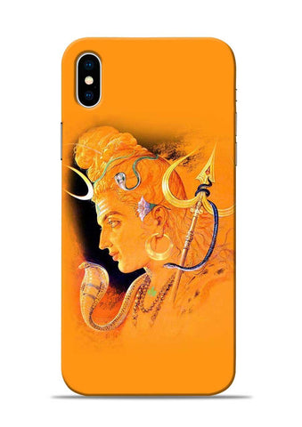The Great Shiva iPhone X Mobile Back Cover