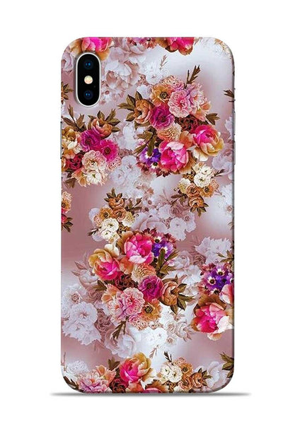 Rose For Love iPhone X Mobile Back Cover