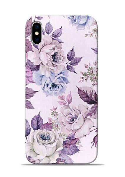 Flowers Forever iPhone X Mobile Back Cover