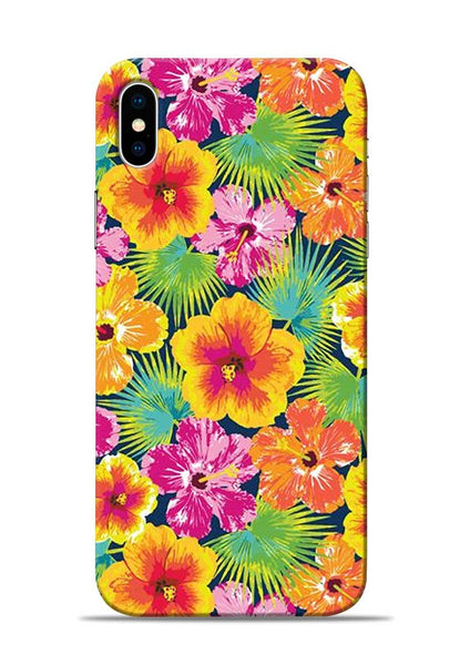 Garden Of Flowers iPhone X Mobile Back Cover