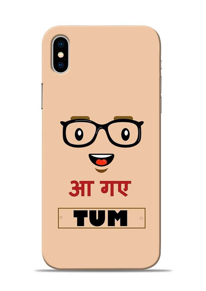 Agaye Tum iPhone X Mobile Back Cover