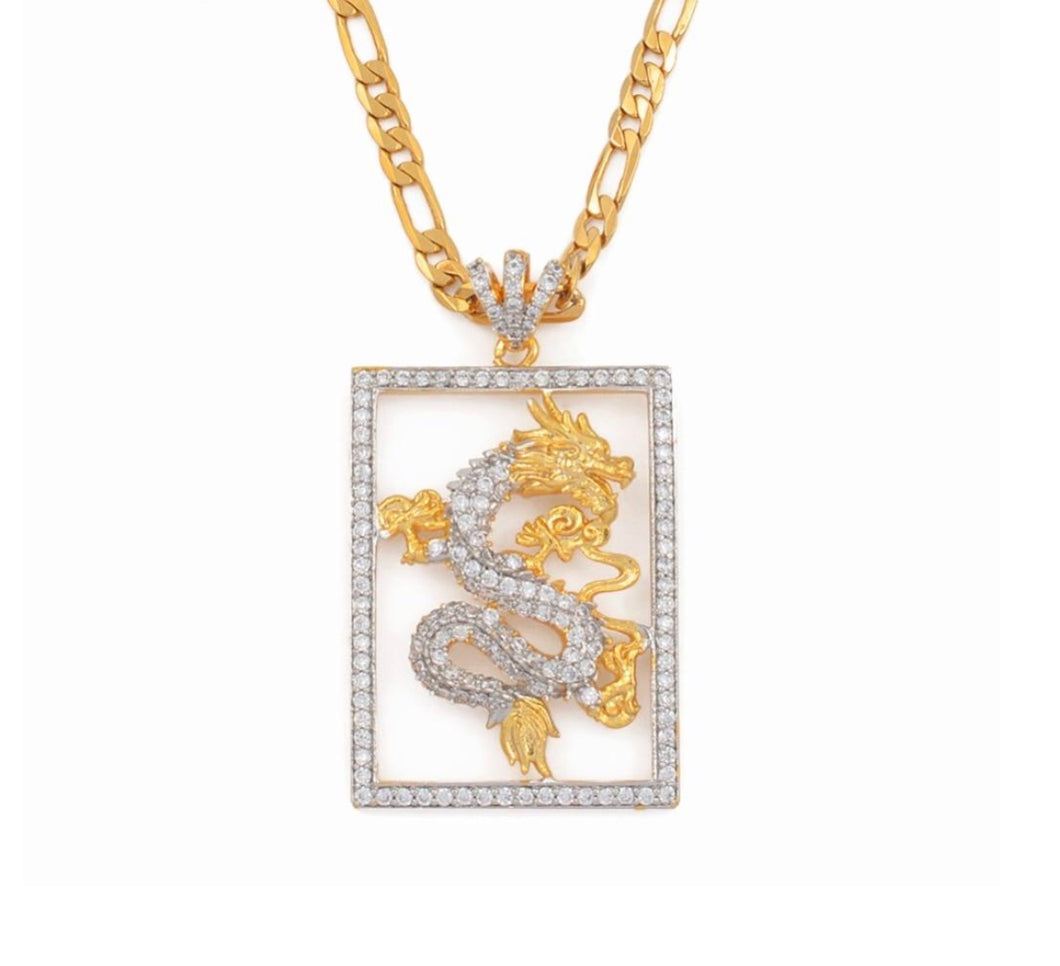 Boss Dragon necklace