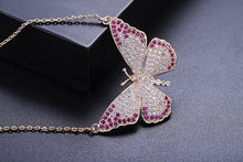 Load image into Gallery viewer, Butterfly Pendants Necklace