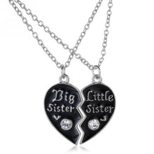 Load image into Gallery viewer, Big Sister Little Sister  Forever necklace