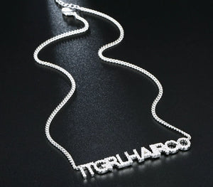 Not your average name Necklace