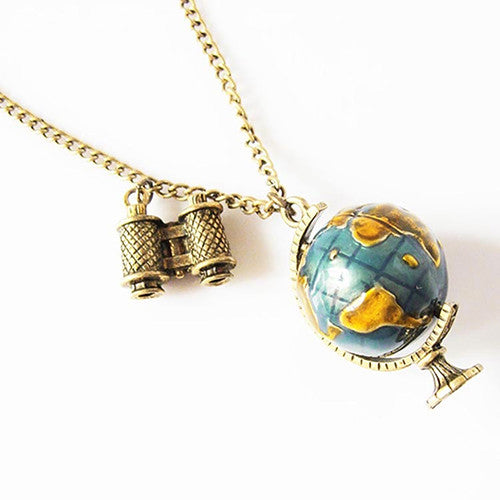 True traveler necklace