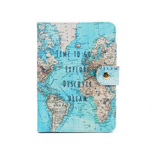 Map Passport Cover