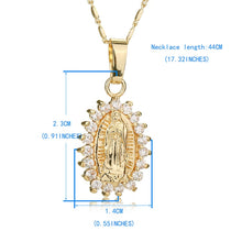 Load image into Gallery viewer, Virgin Mary Necklace