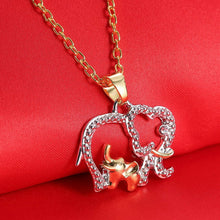 Load image into Gallery viewer, I Love Elephants Necklace