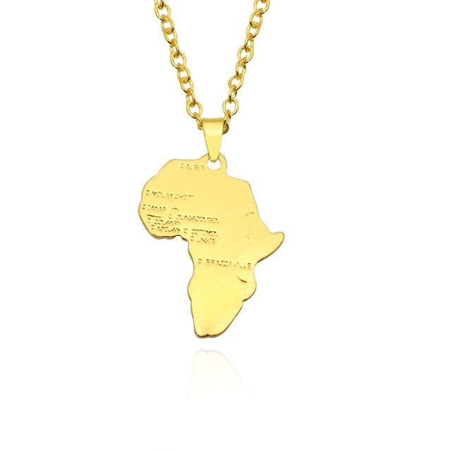 I LOVE AFRICA NECKLACE
