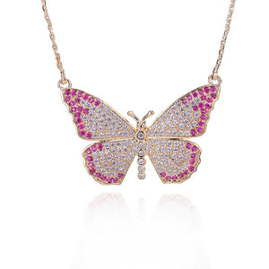 Butterfly Pendants Necklace