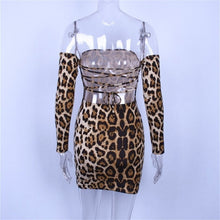 Load image into Gallery viewer, Serena  Leopard Print Dress