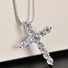 Load image into Gallery viewer, Cross Crystal pendant
