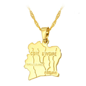 Cote D'Ivoire Necklace