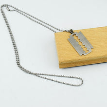 Load image into Gallery viewer, Aesthetic Lock-Blade Necklace