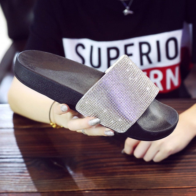 Crystal Diamond Slides