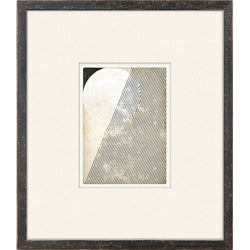 Mid Geo Framed Print-Art-Anecdote