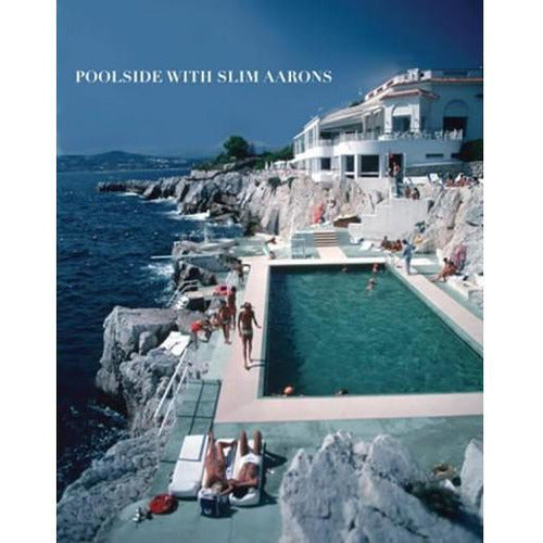 POOLSIDE WITH SLIM AARONS-Books-Anecdote