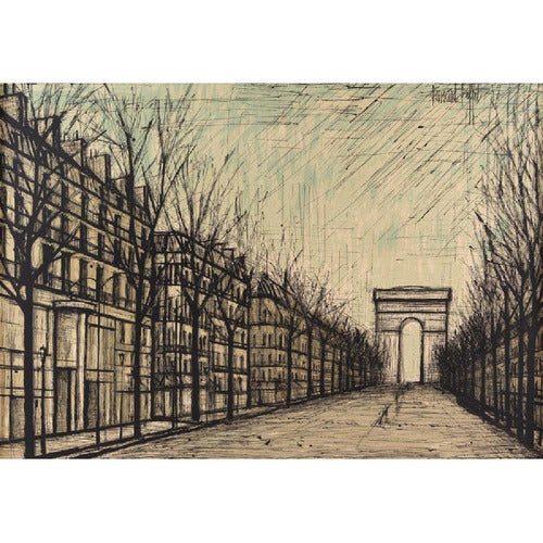 Arc de Triomphe - After Bernard Buffet (French, 1928-1999)-Vintage-Anecdote