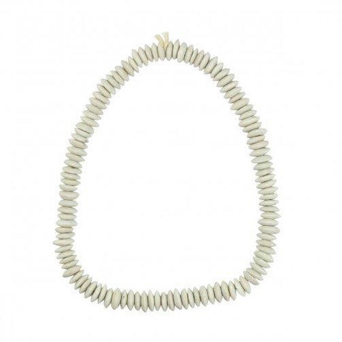 Ashanti Beads, White-Décor-Anecdote