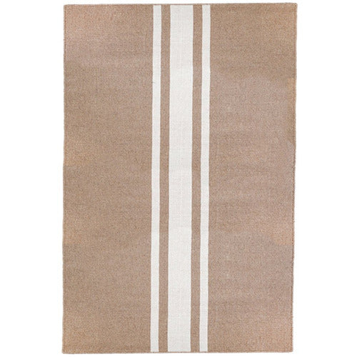 Beachwood Door Mat in White-Bedding and Linens-Anecdote