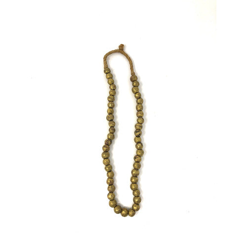 African Brass Necklace