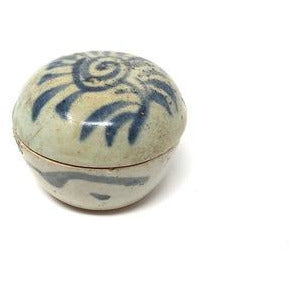 Late Ming Dynasty Covered Porcelain Pottery  #1