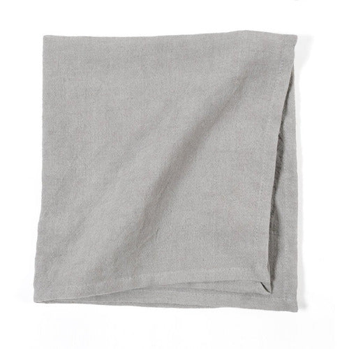 GLENN - NAPKINS - GREY (SET OF 4)-Bedding and Linens-Anecdote