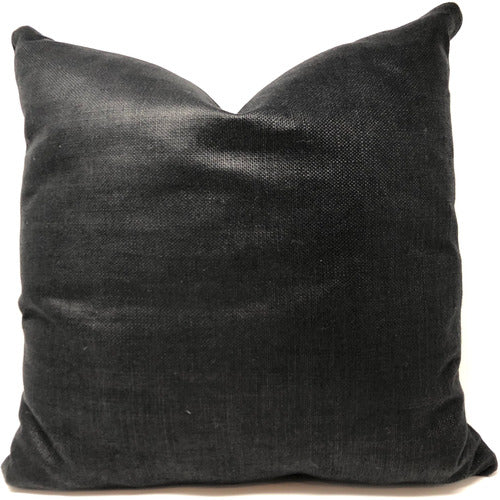 Gatsby Ebony Throw Pillow
