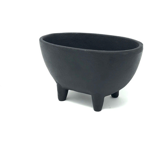 Small Iron Footed Bowl