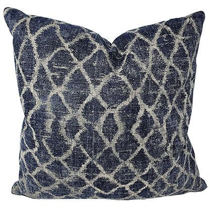 Montego Bay Ink Throw Pillow