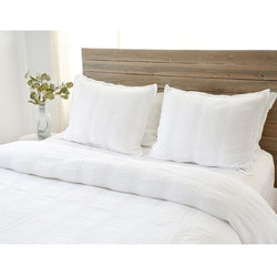 NANTUCKET MATELASSE COLLECTION - WHITE, QUEEN-Bedding and Linens-Anecdote