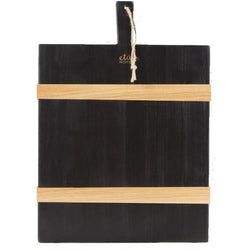 Black Rectangle Mod Charcuterie Board
