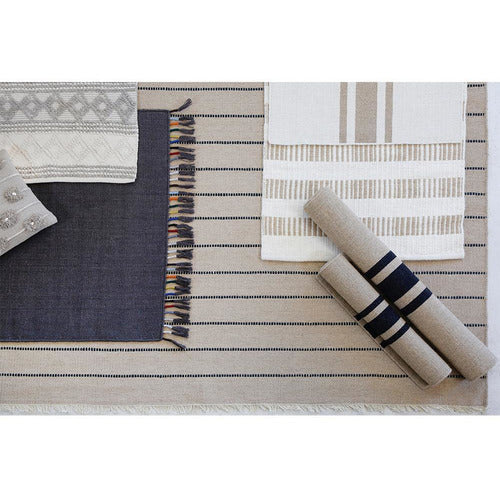 Warby Natural Wool Door Mat-Bedding and Linens-Anecdote
