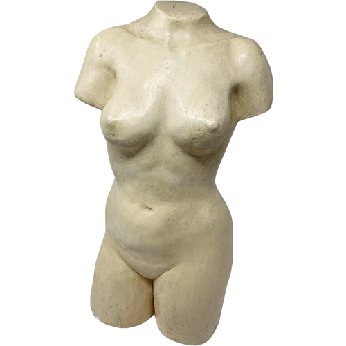 Female Nude Sculpture, Artist Signed-Art-Anecdote