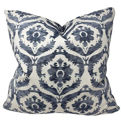 Athena Aegean Blue Throw Pillow