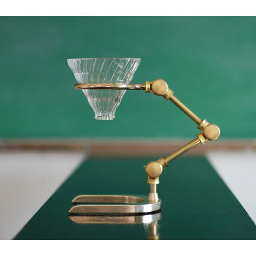 Brass Pour Over Coffee Stand