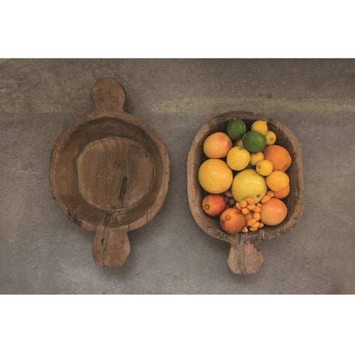 Found Decorative Wood Tray