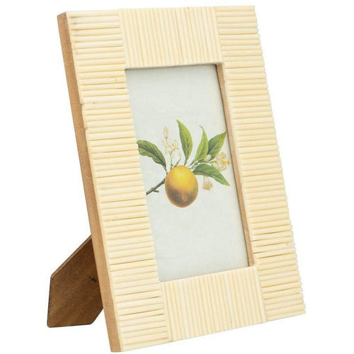 Textured Photo Frame, Off White