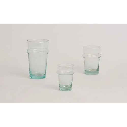 Set of 6, Traditional Moroccan Glasses