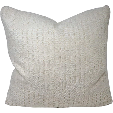 Mitchell Ivory Down Throw Pillow-Pillow-Anecdote