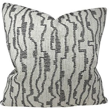 Quinton Ebony Throw Pillow