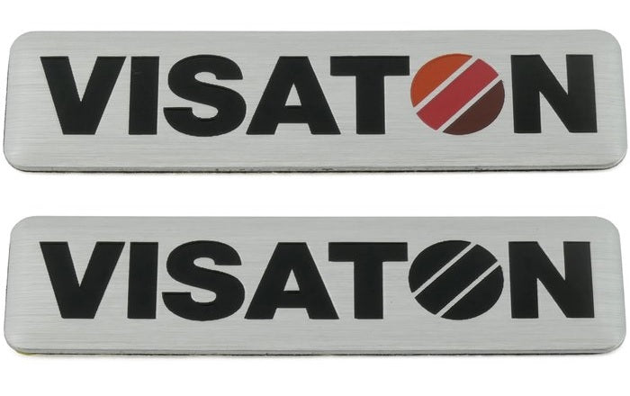 Visaton Sign for Speaker Boxes