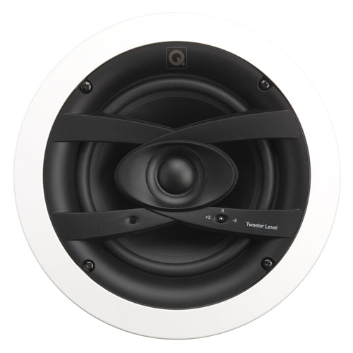 "Q Install Weatherproof 6.5"" In-Ceiling Speakers - Price Per Pair"