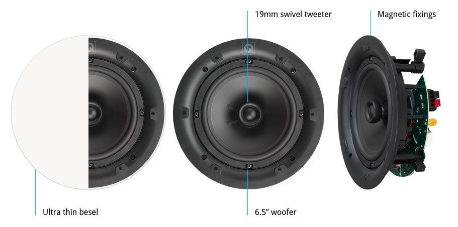 Professional 6.5 inch In-Celling Speakers