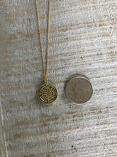 Load image into Gallery viewer, Rustic Coin Necklace