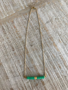 Color Bullet Necklace