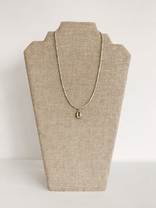 Metal Cowrie Layer Necklace