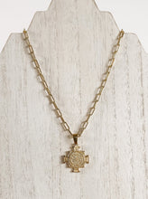 Load image into Gallery viewer, St Benedict Necklace