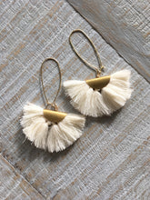 Load image into Gallery viewer, Fringe Drop Earrings